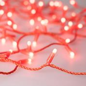 Светодиодная гирлянда ARD-STRING-CLASSIC-10000-RED-100LED-MILK-STD Red (230V, 7W) (ARDCL, IP65)
